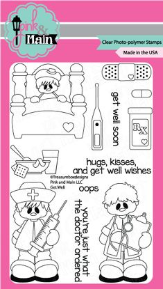 pink and main november stamp release tweet friend clear photo polymer stamps pink and main. Black Bedroom Furniture Sets. Home Design Ideas