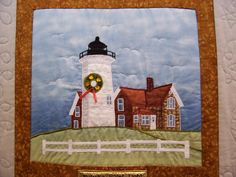 Magical Threads - Inspired Stitches Quilt Show 2013 - Lighthouse Quilt