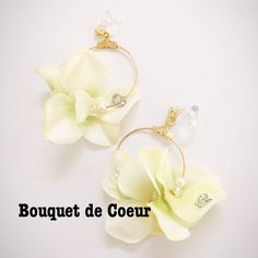 オーダーメイド♡ロングリボン の画像|神戸 フラワーアクセサリーショップ Bouquet de Coeur