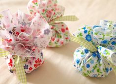 Ballotin printanier pour mariage fleuri | Mercerie Créative - Couture Facile tissu imprimé fleur