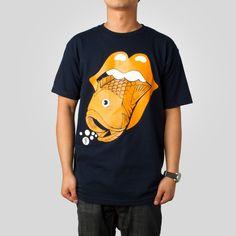 Upper Playground - Fishstones T-Shirt by Jeremy Fish