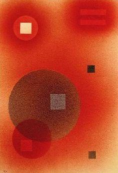 #kandinsky OPPRESSIVE, 1928 Watercolor, gouache London, Christie's http://www.wassilykandinsky.net/work-529.php