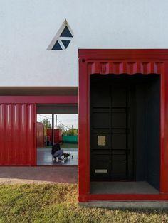 Maison contemporaine en containers en Argentine   Construire Tendance