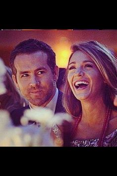 Ryan Reynolds & Blake Lively. I love that they're in love.