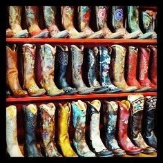 http://www.rivertrailmercantile.com. Cowgirl Boots at RiverTrailMercantile in North Carolina!