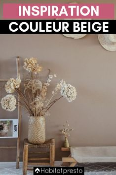 Beige color: 5 ideas for an elegant and soothing decor - New Deko Sites Natural Interior, Soothing Colors, Beige Color, Home Decor Styles, Bohemian Decor, House Colors, Colorful Interiors, Elegant, Living Room Decor