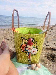 Un sac de plage très basic devenu très unique !