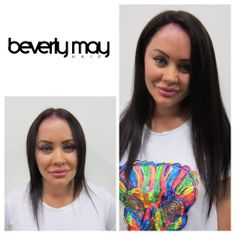 B e f o r e a f t e r beverly may hair extensions applied by b e f o r e a f t e r beverly may hair extensions applied by the super talented girls at hairhalo beverlymayhair hairextensions pinterest hair pmusecretfo Images