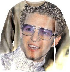 Justin Timberlake Sexy Sweater
