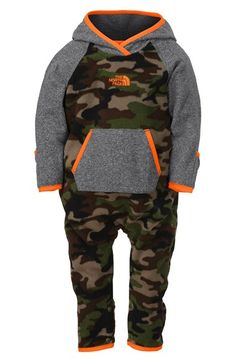 The North Face 'Glacier' One-Piece (Baby Boys) available at #Nordstrom