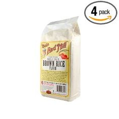 Bob`s Red Mill Rice Flour Brown, 24-Ounce (Pack of 4) $11.00