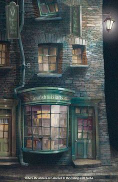 Harry Potter Welcome to Diagon Alley Poster Harry Potter Hogwarts School Welcome to Diagon Alley Pos Harry Potter Poster, Art Harry Potter, Mundo Harry Potter, Harry Potter Fandom, Harry Potter Universal, Harry Potter Hogwarts, Harry Potter Places, Hogwarts Library, Harry Potter Tumblr