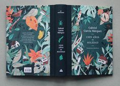 Illustrations for One Hundred Years of Solitude (by Gabriel García Márquez), an edition that celebrates the anniversary of the original publication of the Game Design, Design Logo, Web Design, Brochure Design, Layout Design, Book Cover Art, Book Cover Design, Book Art, Book Design Graphique