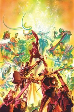 Alex Ross To Paint One Cover A Month For Marvel's 75th Year. Starting With Avengers.