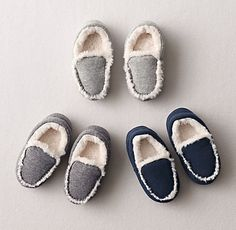 luxe sherpa moccasins keep little toes toasty on chilly winter mornings. #rhbabyandchild