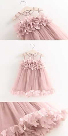 """The Bella"" Flower Girl Dress – Pop Sparkle"