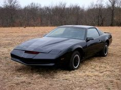 """1982 Pontiac Firebird Trans Am  O Pontiac Firebird Trans Am da série de TV """"Supermáquina""""(Knight Rider)."""