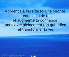 Reiki, Strong Words, Zen, Coaching, Boards, Positivity, Ideas, Being Happy, Bonheur