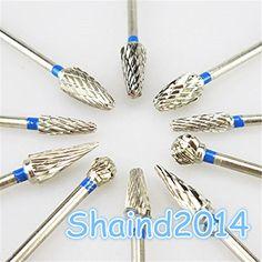 10Pcs/Set Tungsten Steel Dental Carbide Burs Lab Burrs Tooth Drill Shadental http://www.amazon.com/dp/B01BYM1FX8/ref=cm_sw_r_pi_dp_NZw8wb1052MRT