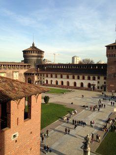 Sforza Castle - Cadorna, Milano