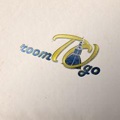 Progettazione logo per sito di affitti brevi in Torino.  roomTOgo #logo #logotipo #logodesign #grafica #mockup  @Graphic Creations