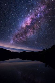 Milky way with lake by Structuresxx Photographer on 500px