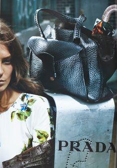 Daria for Prada by Steven Meisel