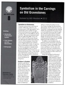 Symbolism in the Carvings on Old Gravestones
