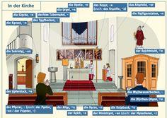 In der Kirche