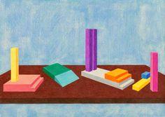 Marta Riniker-Radich, The Unapproved Unit Set – Pearland, colored pencil… Motifs, Colored Pencils, Home Decor, Art, Colouring Pencils, Decoration Home, Room Decor, Home Interior Design, Crayons