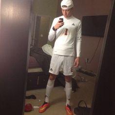 White socked soccer twinks