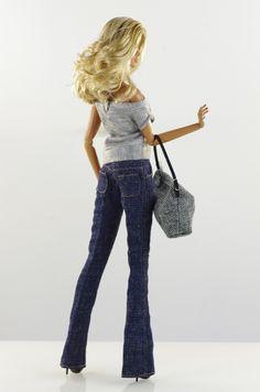 prepare for (FR2 body) set inc.: coat, top, jeans, bag, shoes.