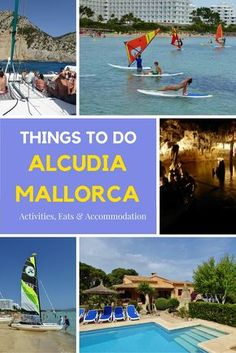 Alcudia Mallorca Family Friendly Guide - we share things to do with kids, places to stay & a few places to eat. A wonderful family destination. Read more on WagonersAbroad.com