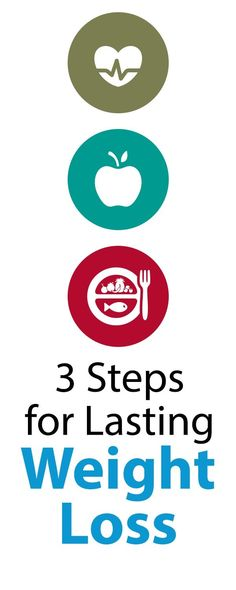 With these 3 steps, you can stay thin and healthy for life, without ever having to diet again! #totalbodytransformation