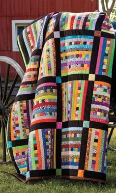 Sticks and Stones quilt pattern.Use up all of your scraps.STASH BUSTER! Pattern…