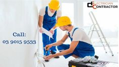 If you are in any kind of electrical emergency and looking for professional electricians to resolve the problem, then you must contact Electrician Contractor in Melbourne. Our professional Electrician provide high quality workmanship which is both fully insured, and guaranteed services. Our electricians are expert in repairing power points or installing new ones. We always offer a clear price on the services. To know more details, visit our website.