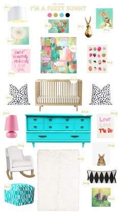 Lay Baby Lay: easter inspiration on BHG today! This blog has super fun inspiration boards for your baby's nursery. Check it out!