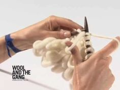 01 Loop Stitch Knitting Tutorial by Wool and the Gang