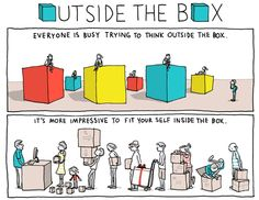 Comic: The Importance Of Thinking Beyond The Box