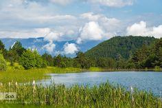 Şirinyazı Göleti - Pinned by Mak Khalaf Landscapes bluecloudsforestgreenlakelandscapesmountainssummertraveltreeswater by RKAMARI