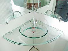 Resultado de imagem para cubas de banheiro de vidro