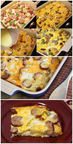 Weekend Company Breakfast Casserole | Bake a Bite