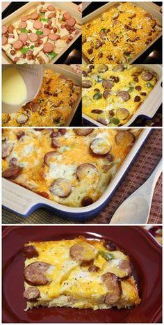 Weekend Company Breakfast Casserole | Bake a Bite