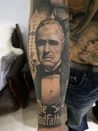 MOB Tattoo 34 Mob Tattoo, Tattoo Mafia, Sleeve Tattoos, Gangster Tattoos, Badass Tattoos, Mafia Gangster, Godfather Tattoo, The Godfather, Forearm Tattoo Design
