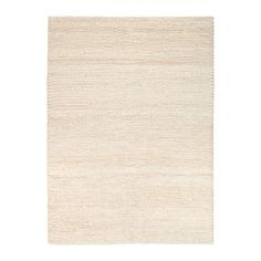 IKEA IBSKER Rug Handmade off-white 170 x 240 cm Handwoven by skilled craftspeople, and therefore unique. Deco Baroque, Ikea Rug, White Rug, Rugs In Living Room, Handmade Rugs, Home Furnishings, Home Accessories, Hand Weaving, Interior