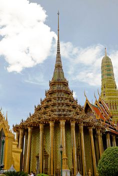 Grand Palace - Bangkok, This is where Gina and Rachel go to see the statue of the Jade Buddha