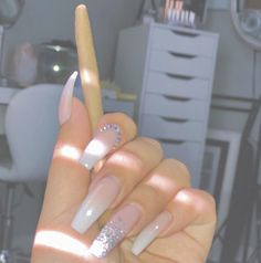Gorgeous Trend Stiletto Nails in 2019 Nails Polish, Aycrlic Nails, Glam Nails, Dope Nails, Stiletto Nails, Coffin Nails, Hair And Nails, Best Acrylic Nails, Acrylic Nail Designs