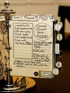 Gypsies Journal: 4 x 6 Recipe Holder