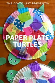 Paper Plate Turtles Paper Plate Turtles,Crafts & Activities from Our Database Want a cute & simple craft for all ages that's sure to make you smile? Check out our post on paper plate turtles. Paper Plate Crafts For Kids, Easy Crafts For Kids, Craft Activities For Kids, Summer Crafts, Art For Kids, Activities For 3 Year Olds, Crafts For Toddlers, Craft Ideas, Summer Activities