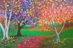60 x 90cm acrylic on canvas. $1950.00. Available at http://contemporaryonlineartgallery.com
